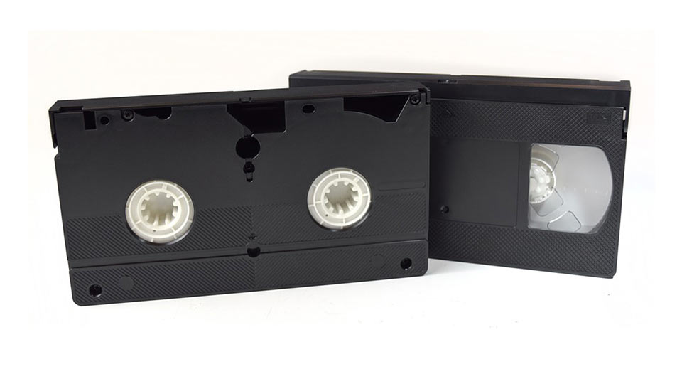 2 VHS tapes@0,75x